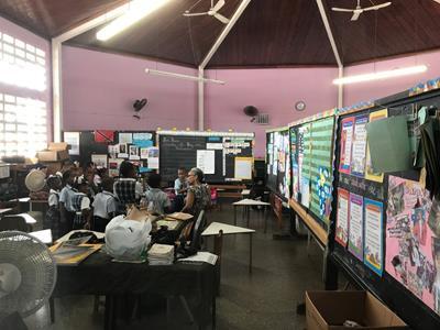 Auditorium Classroom Before