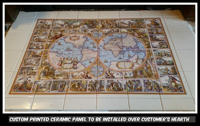 Ceramic Tile Install