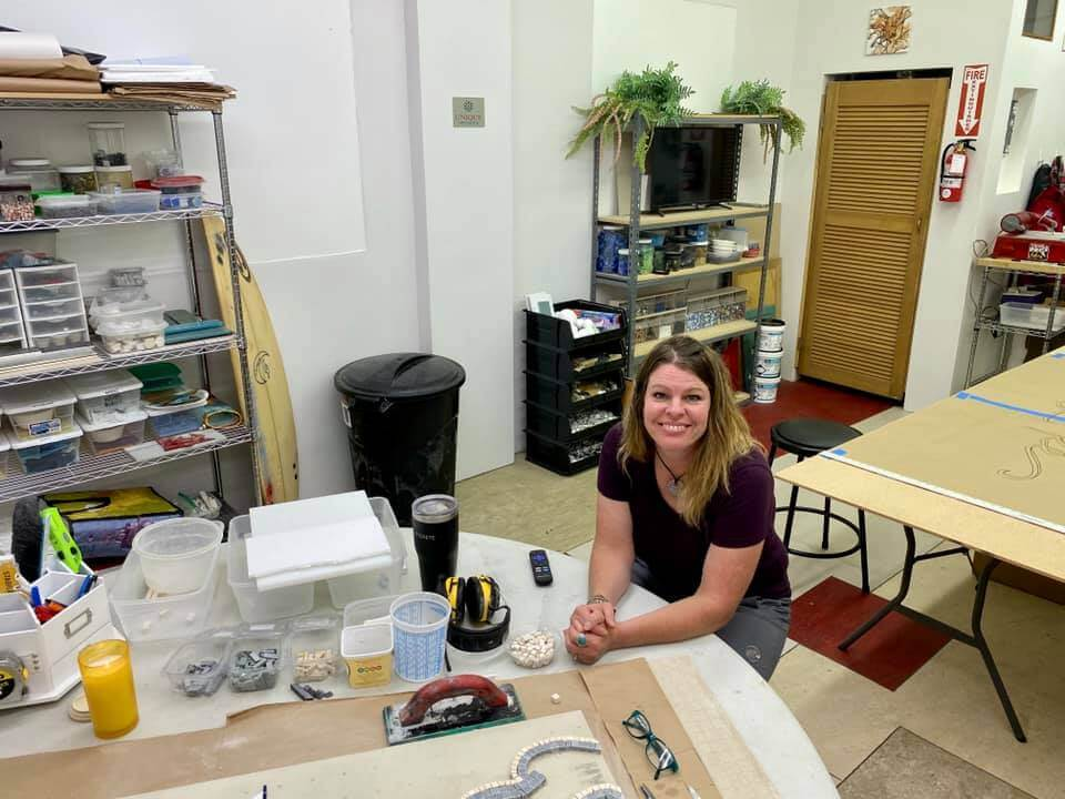 Angie Halford Ré, Owner of Unique Mosaics in Salt Lake City, Utah