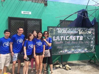 Team LATICRETE