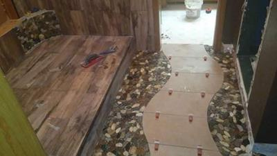 SPECTRALOCK epoxy grout project by Sean McLeod