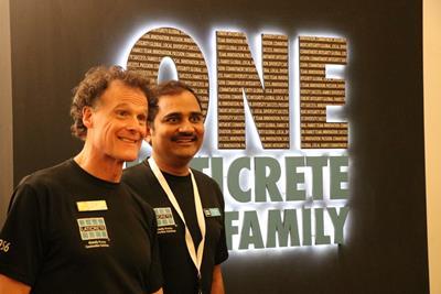 David Rothberg and Ritesh Singh of LATICRETE