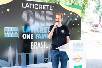 Jesler Freitas, LATICRETE Region Manager South America