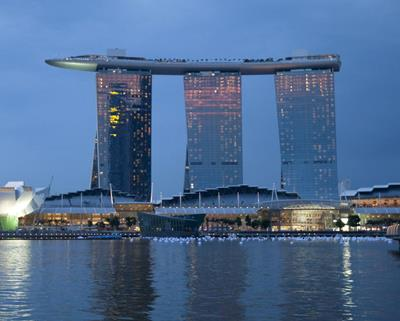 Marina Bay Sands Pool in the Sky