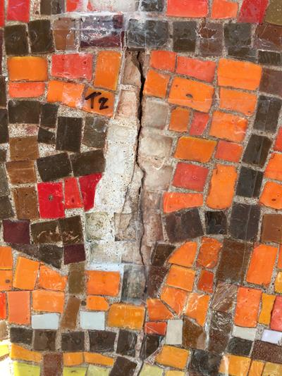 Fractured mosaic Photo: Julie Richey