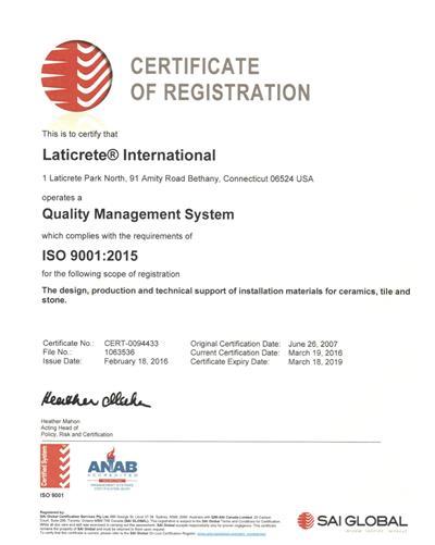 ISO Renewal