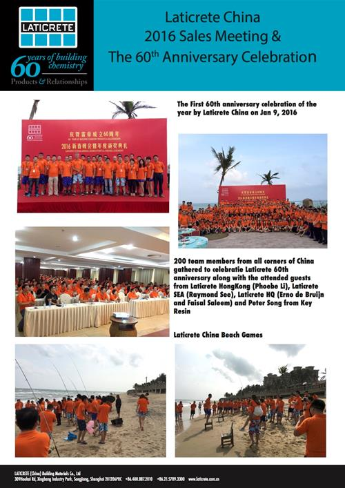 Laticrete China Sales Meeting