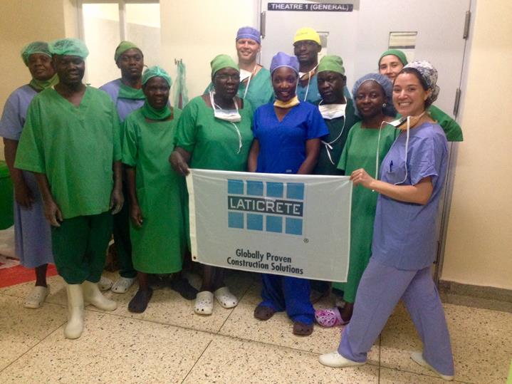 Surgical Team_Out of surgery