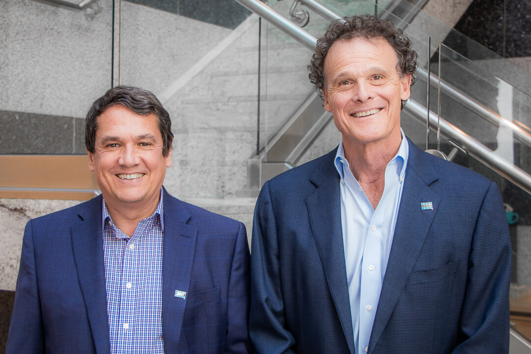 Patrick Millot, CEO and David Rothberg Chairman of the Board for LATICRETE