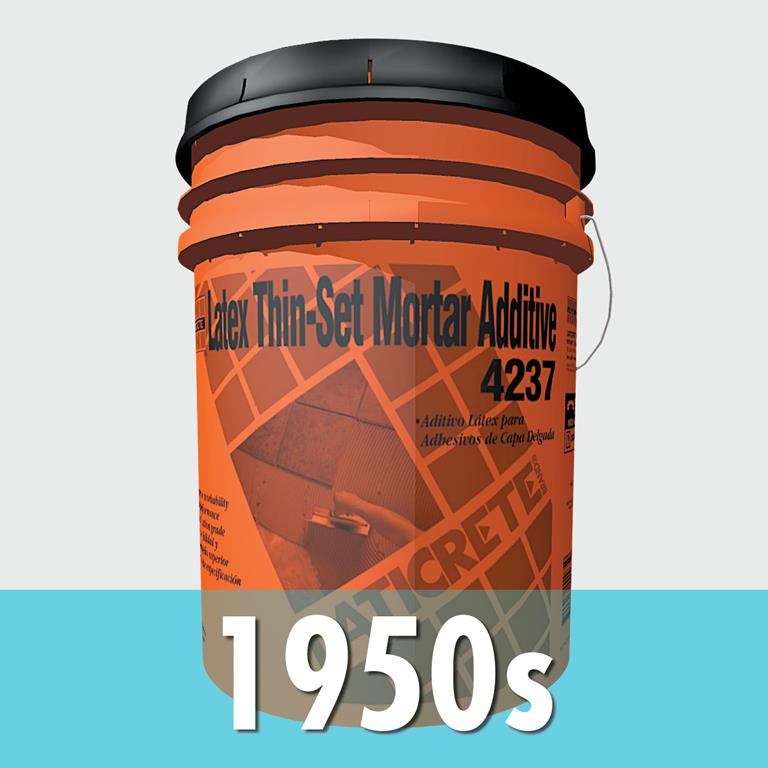 LATICRETE company history 1950s