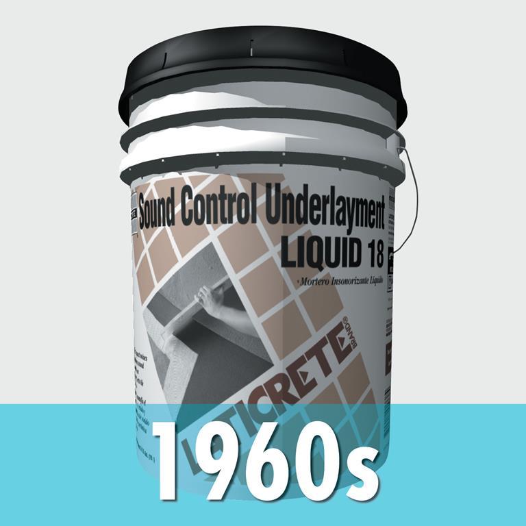 LATICRETE company history 1960s