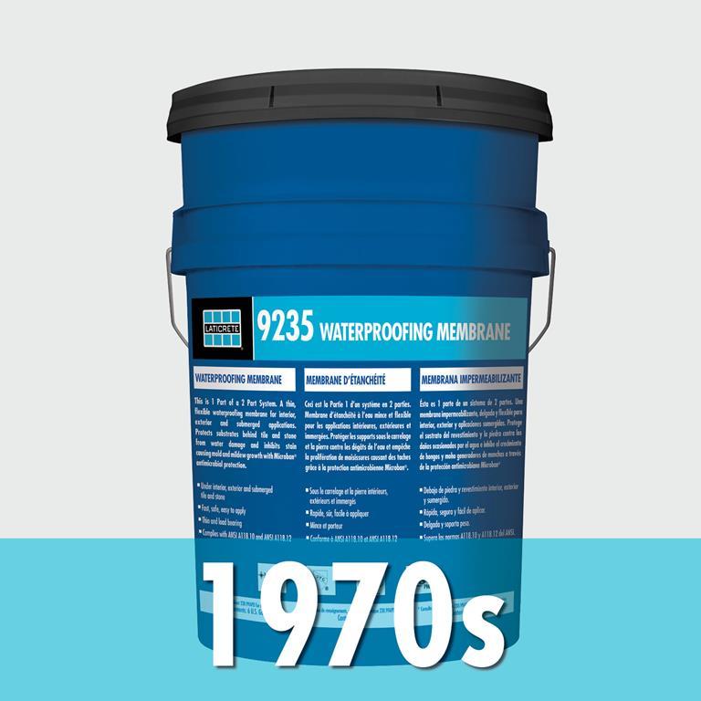 LATICRETE company history 1970s