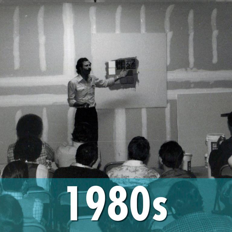 LATICRETE company history 1980s