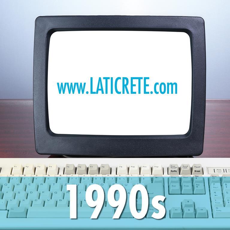 LATICRETE company history 1990s