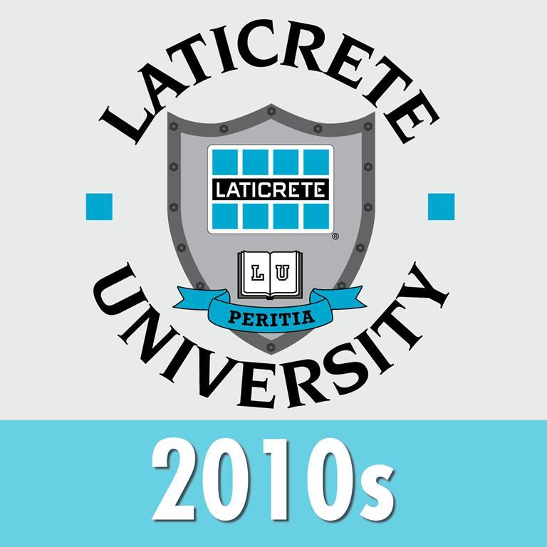 LATICRETE company history 2010s