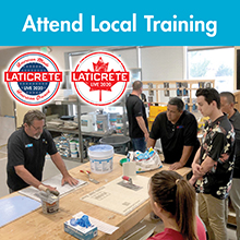 LATICRETE Live Local Training Series