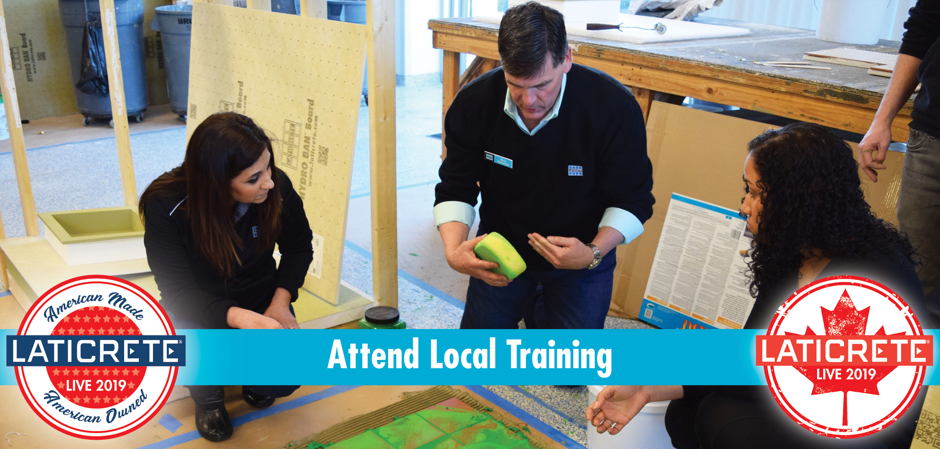 LATICRETE LIVE - LOCAL Training