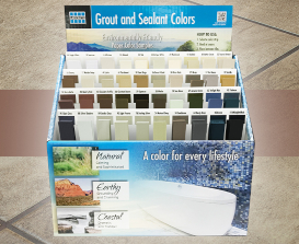 Eco Grout Color Selector