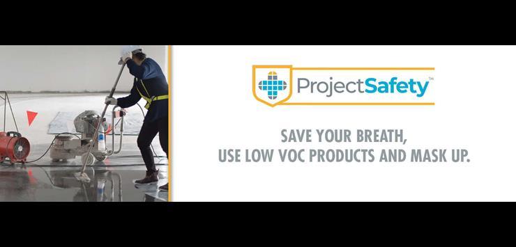 LATICRETE cares about VOC safety