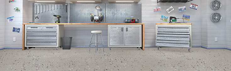 Epoxy floor covering ideas for PERMAGUARD™ products by LATICRETE