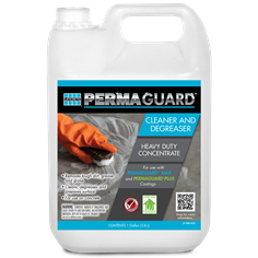 PERMAGUARD Cleaner Degreaser epoxy concrete floor cleaner