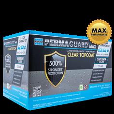 PERMAGUARD MAX Topcoat garage floor epoxy coat for up to 2.5 cars