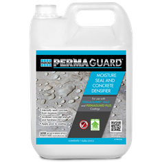 PERMAGUARD Moisture Seal and Concrete Densifier floor sealer