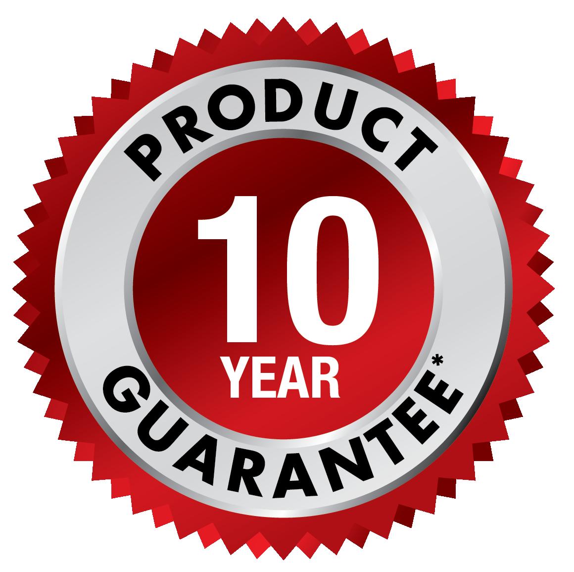 10 Year Guarantee USA