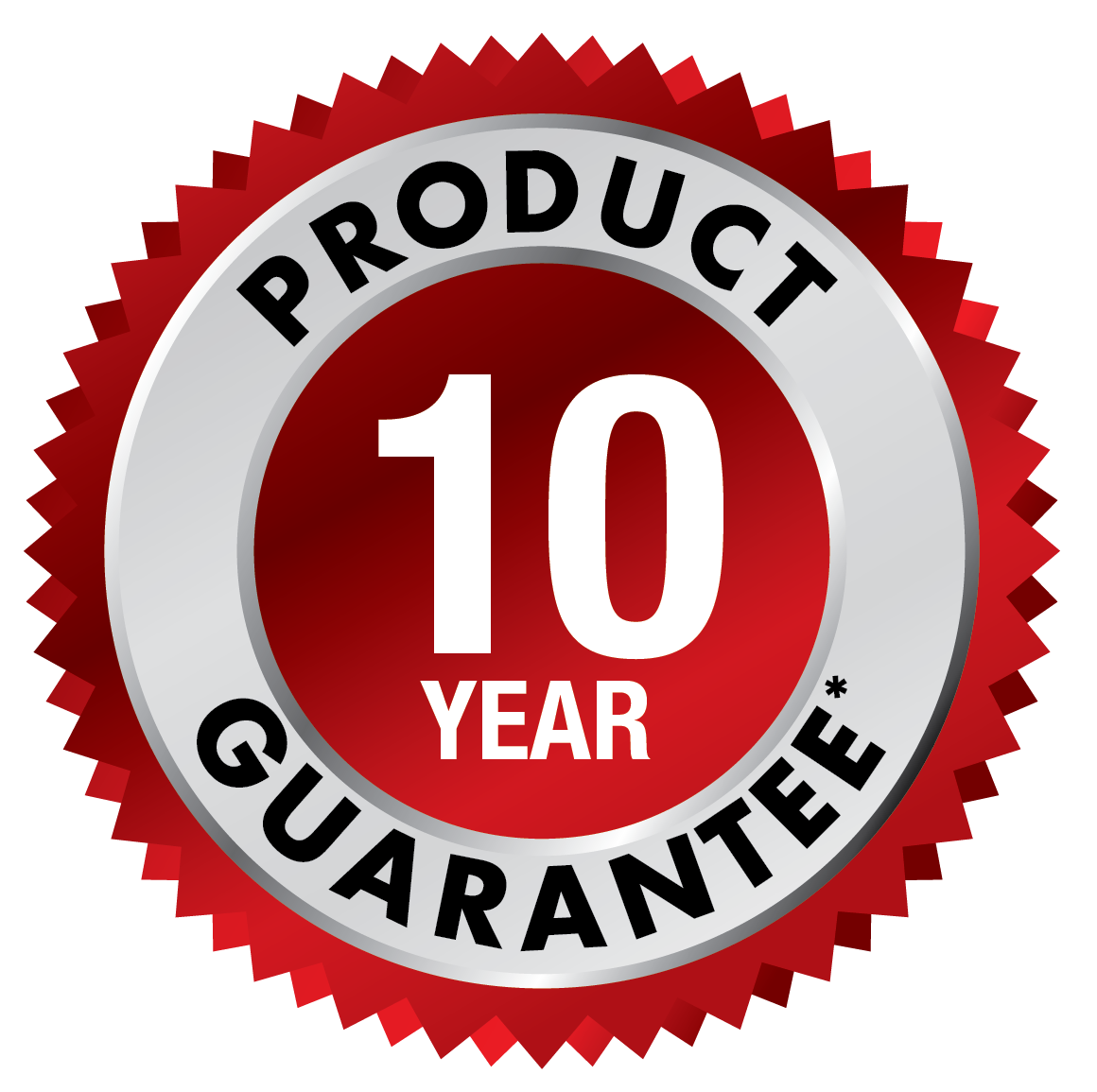 10 Year Guarantee USA