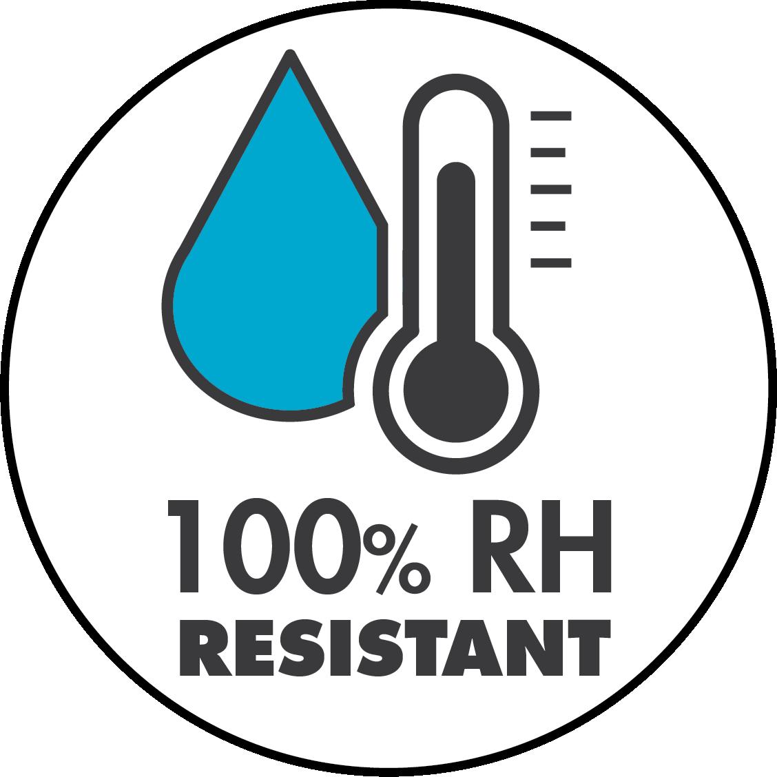 100% RH Resistant