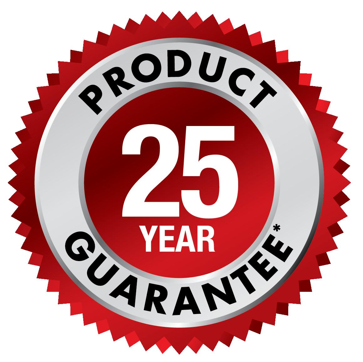 25 Year Guarantee USA