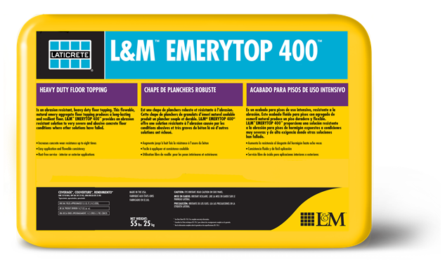 L Amp M Emerytop 400 Laticrete