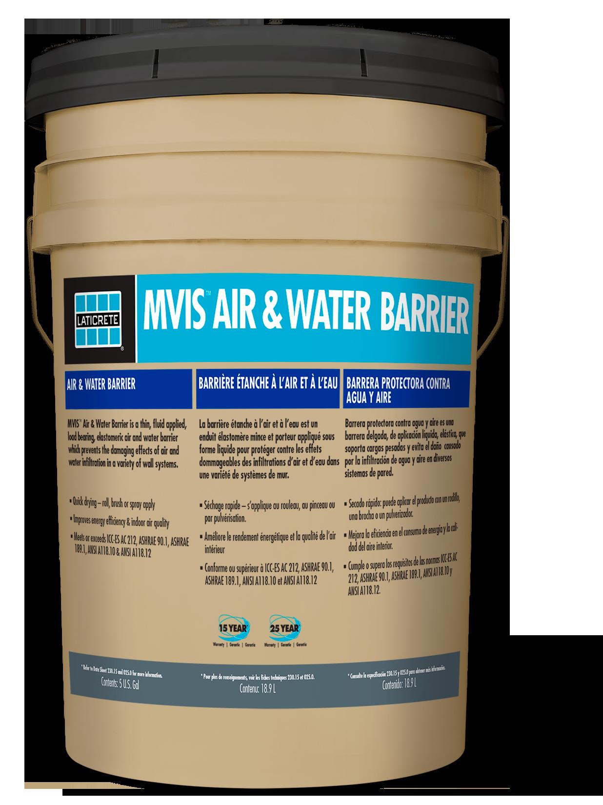 MVIS™ Air & Water Barrier