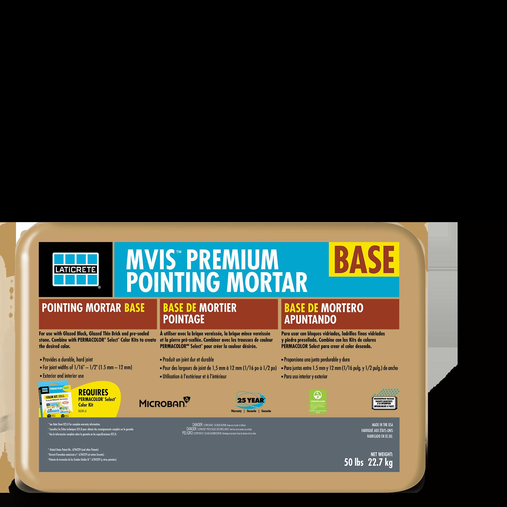 MVIS™ Premium Pointing Mortar