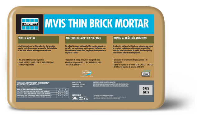 Mvis Thin Brick Mortar