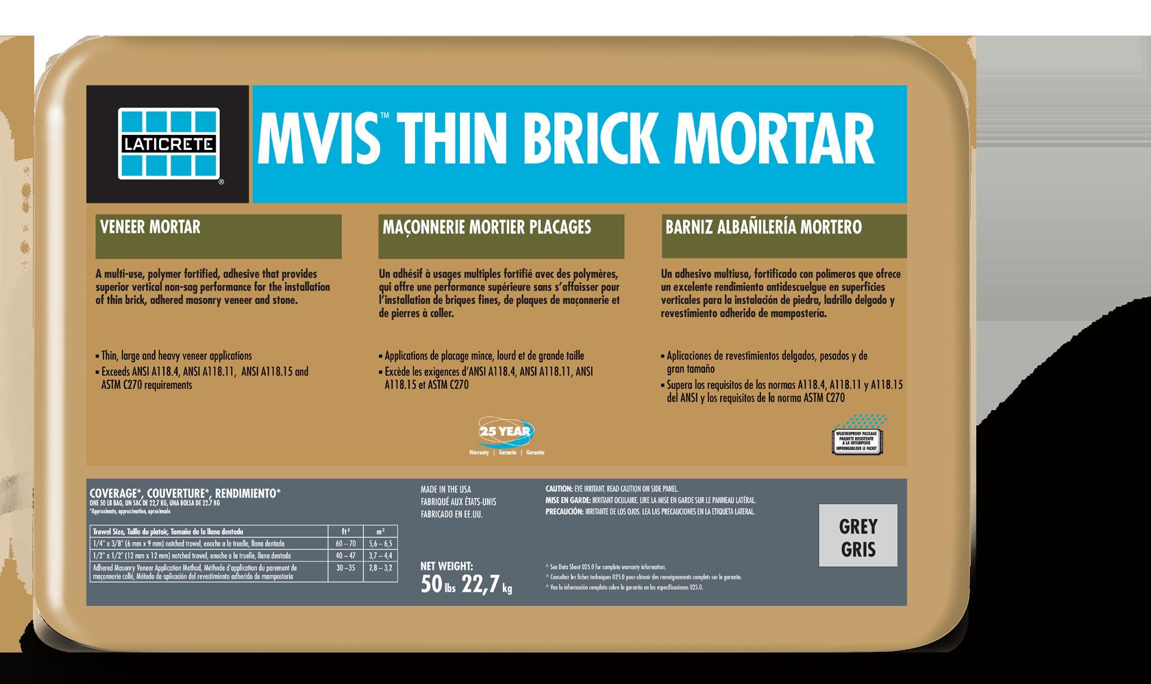 MVIS™ Thin Brick Mortar