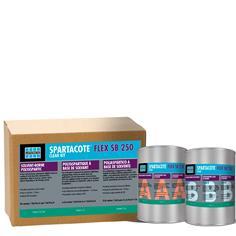 SPARTACOTE FLEX SB 250 Clear Kit polyaspartic coating