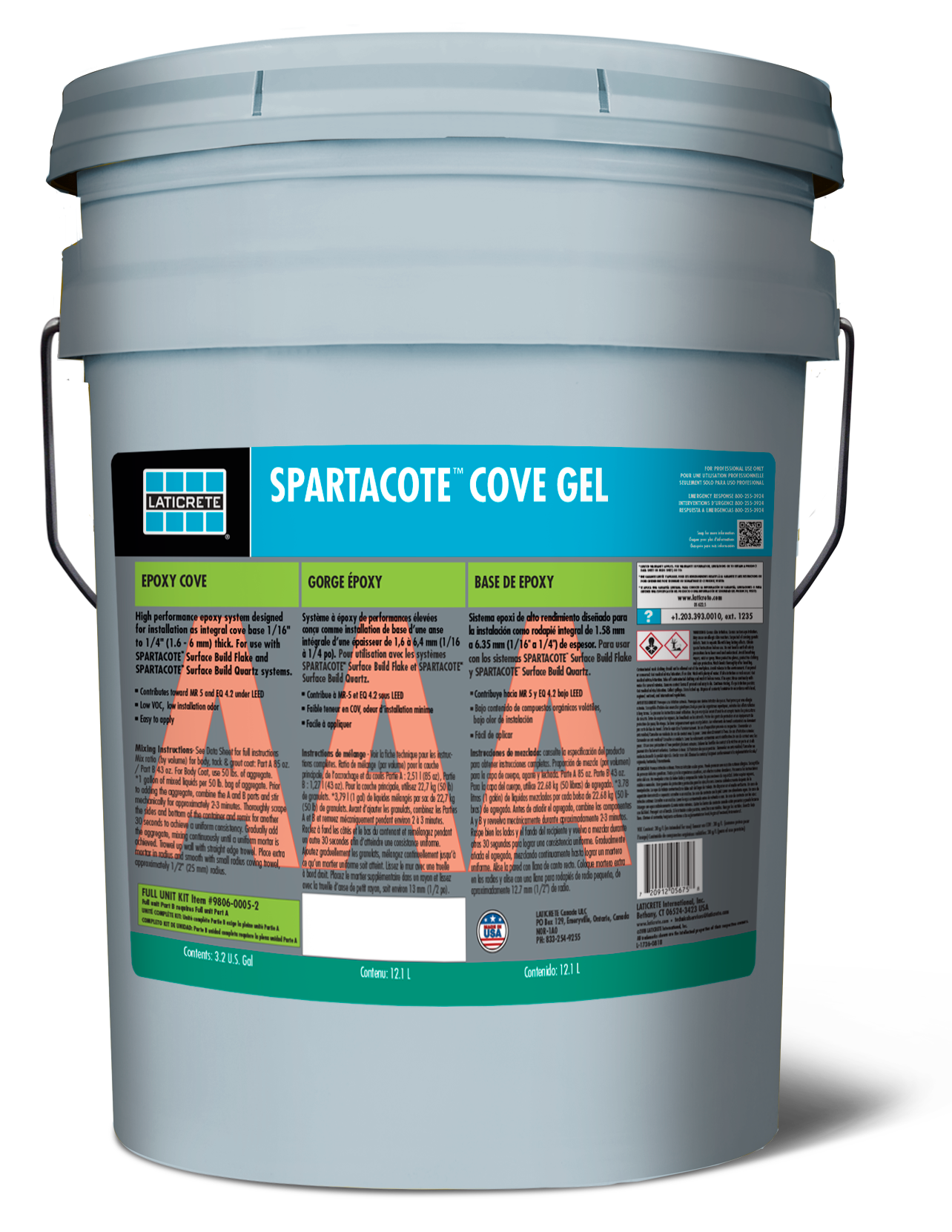 SPARTACOTE Cove Gel
