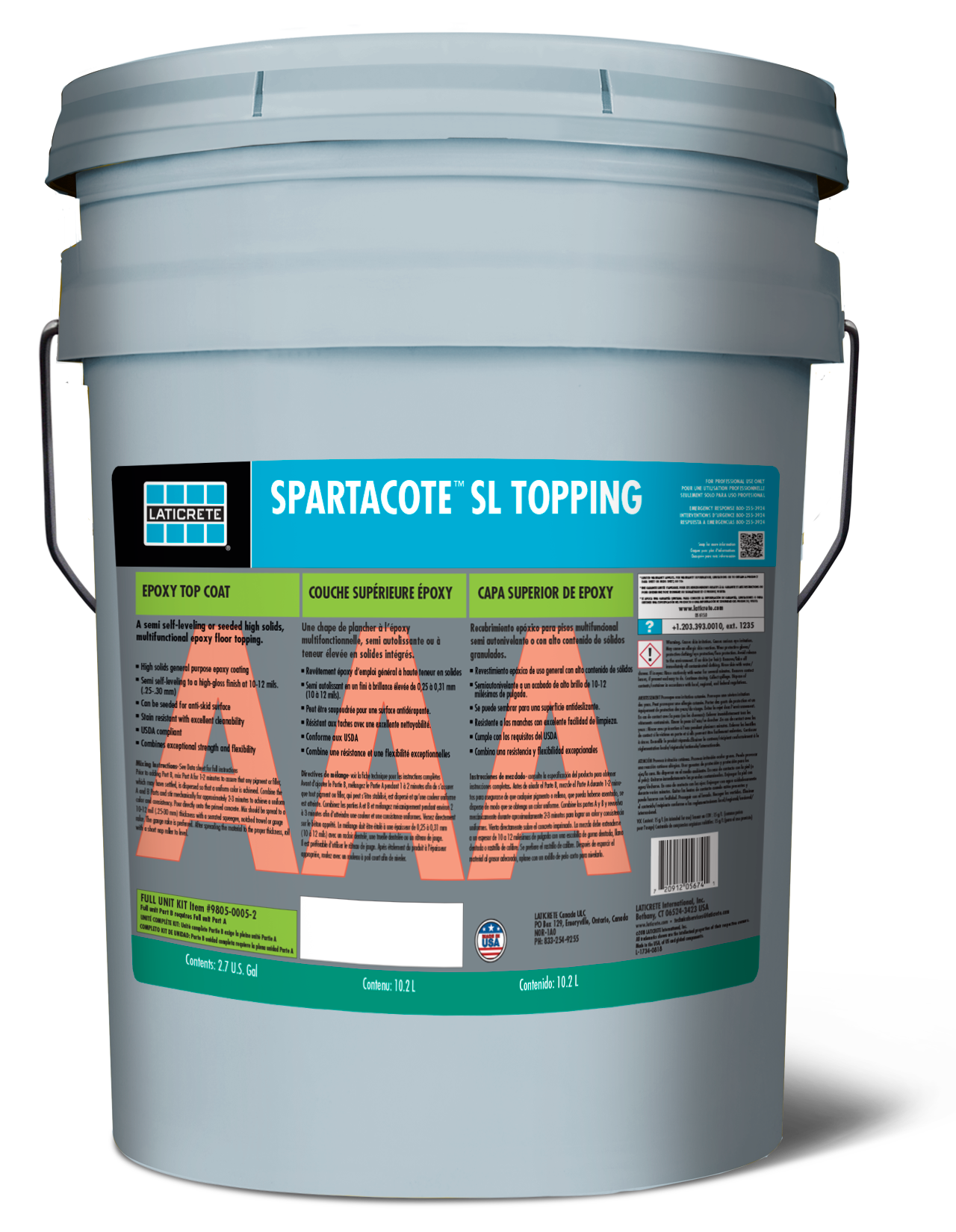 SPARTACOTE SL Topping
