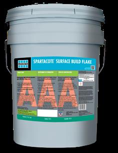 SPARTACOTE Surface Build Flake