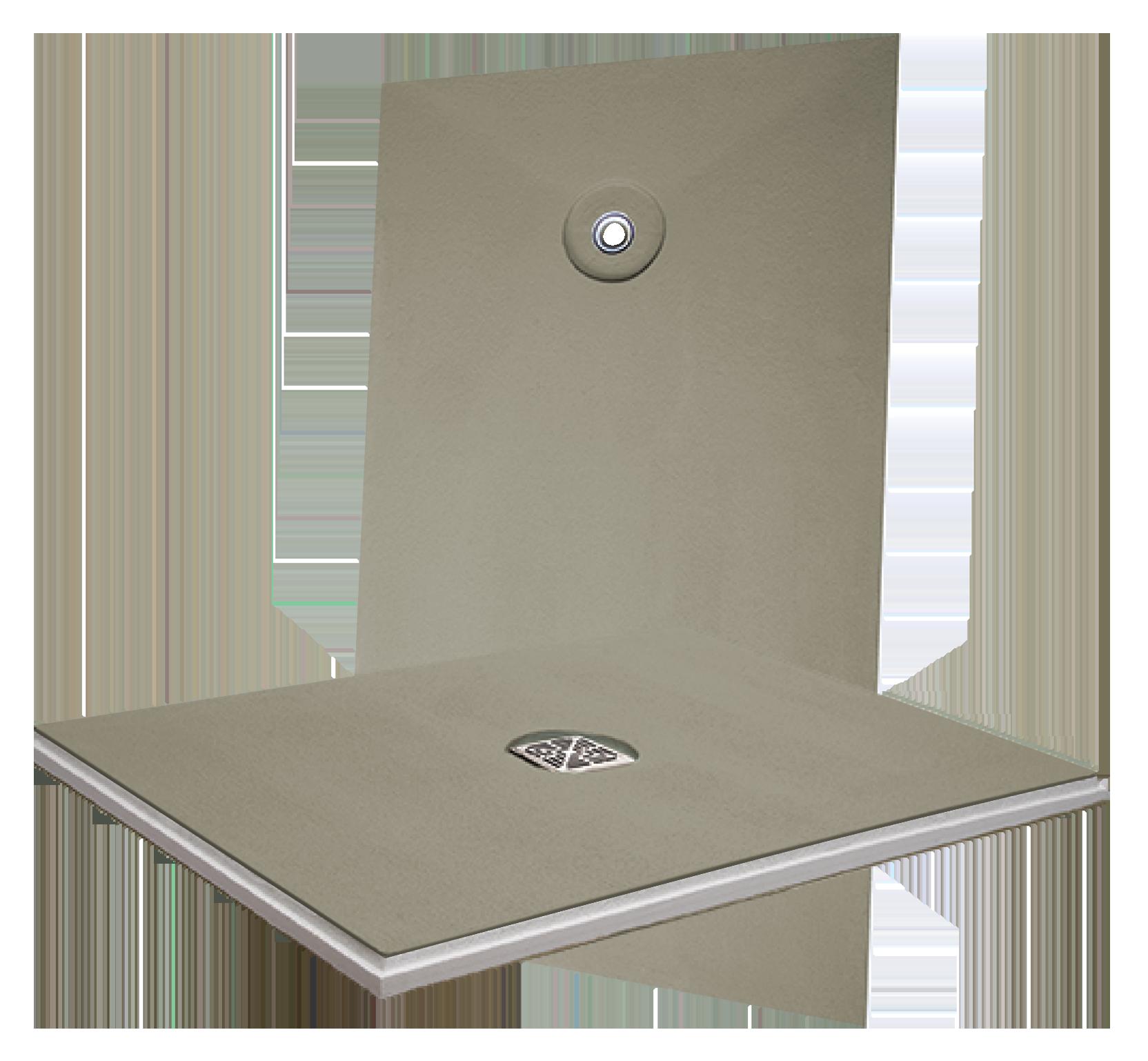 HYDRO BAN® Pre-Sloped Shower Pan