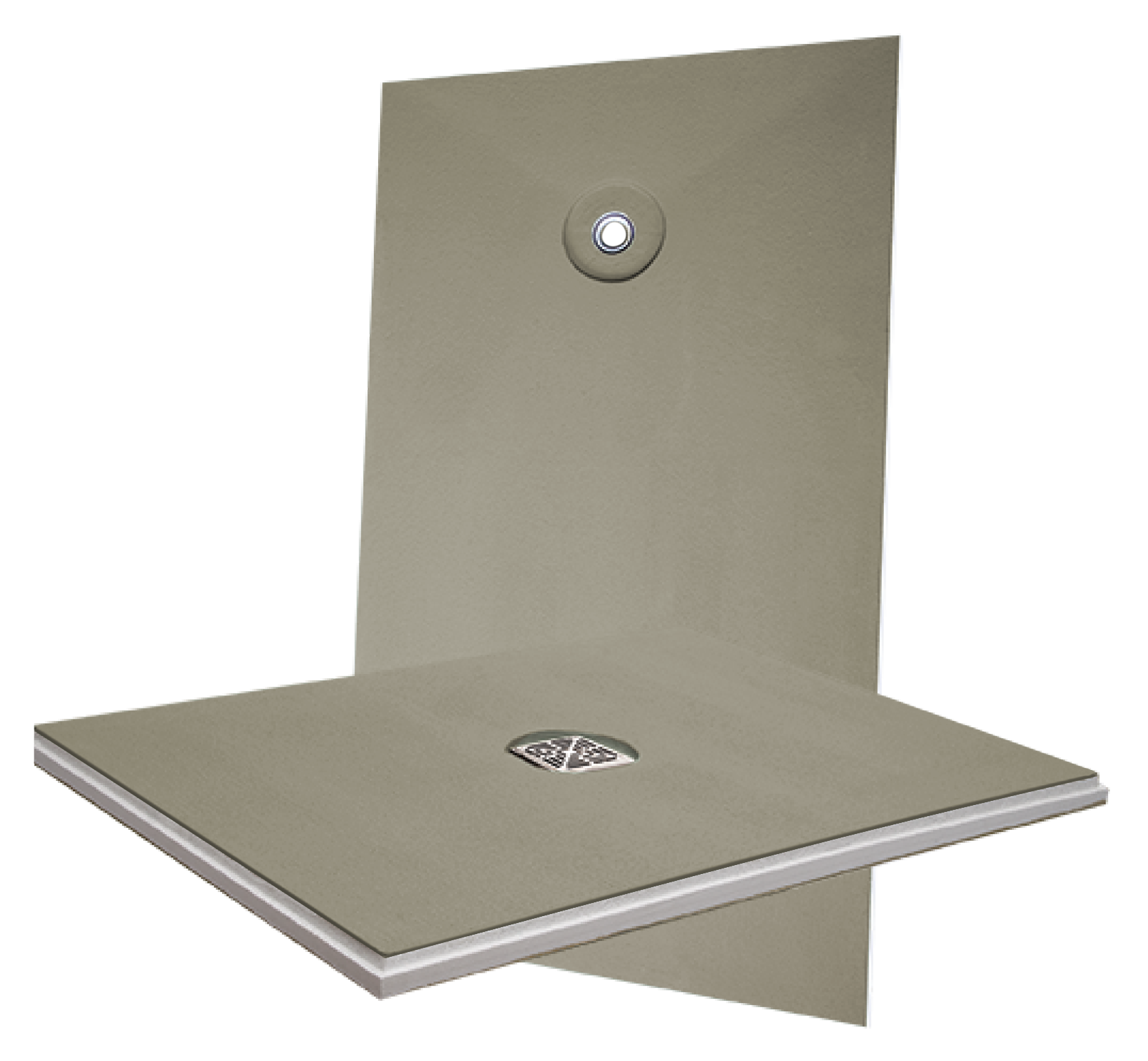 Hydro Ban Pre Sloped Shower Pans Come With A Factory Installed Drain To Connect Directly The Domestic Waste Line And Insure Highest Quality