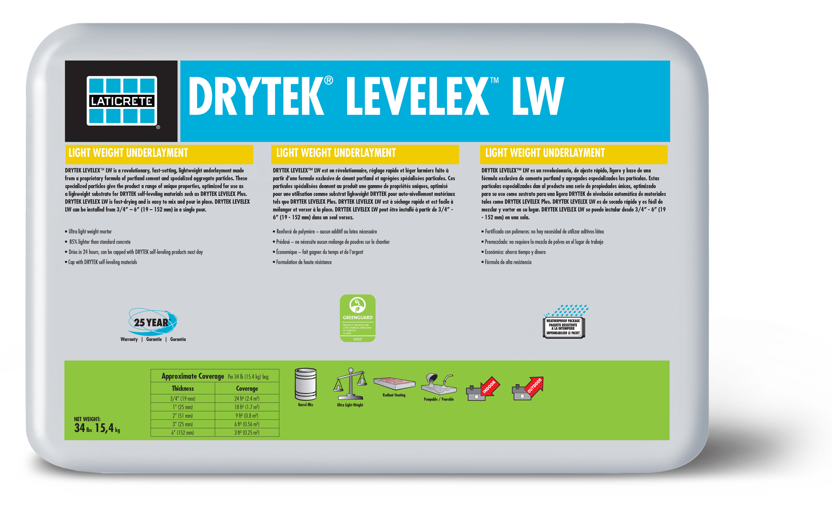 DRYTEK® LEVELEX™ LW