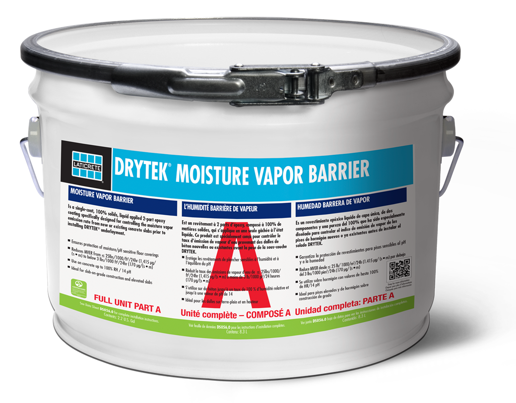 Drytek Moisture Vapor Barrier Ideal For Concrete Laticrete