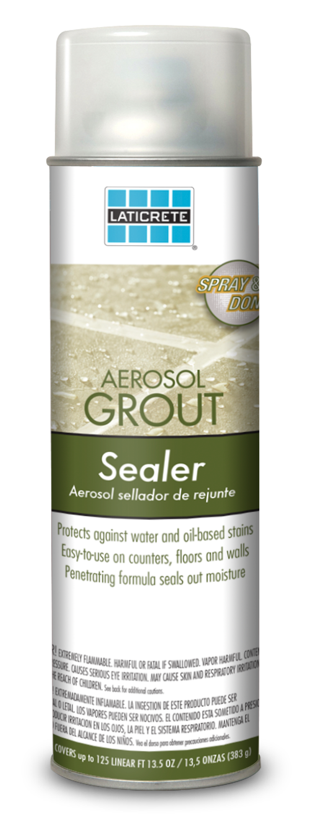 LATICRETE® Aerosol Grout Sealer