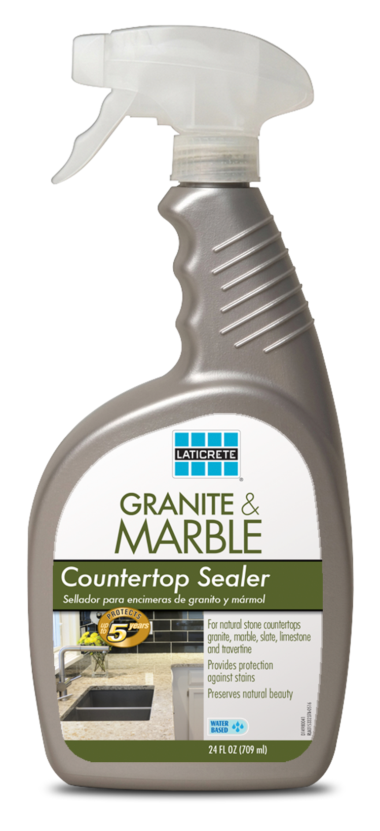 LATICRETE Granite & Marble Countertop Sealer