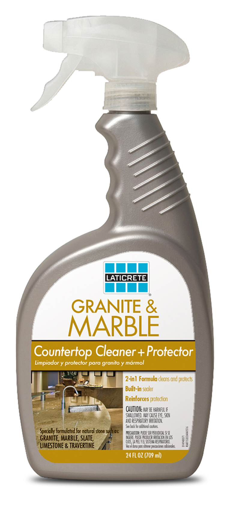 LATICRETE® Granite U0026 Marble Countertop Cleaner U0026 Protector Is An Easy To  Use, 2 In 1 Formula That Contains A Built In Sealer U2013 Which Reinforces  Protection ...