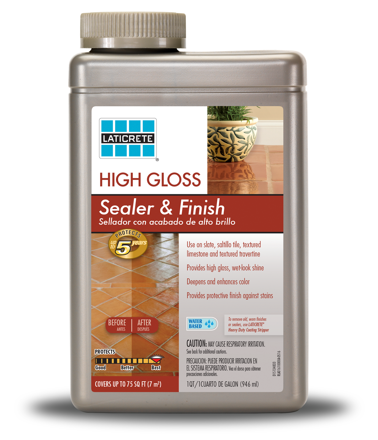 LATICRETE® High Gloss Sealer & Finish