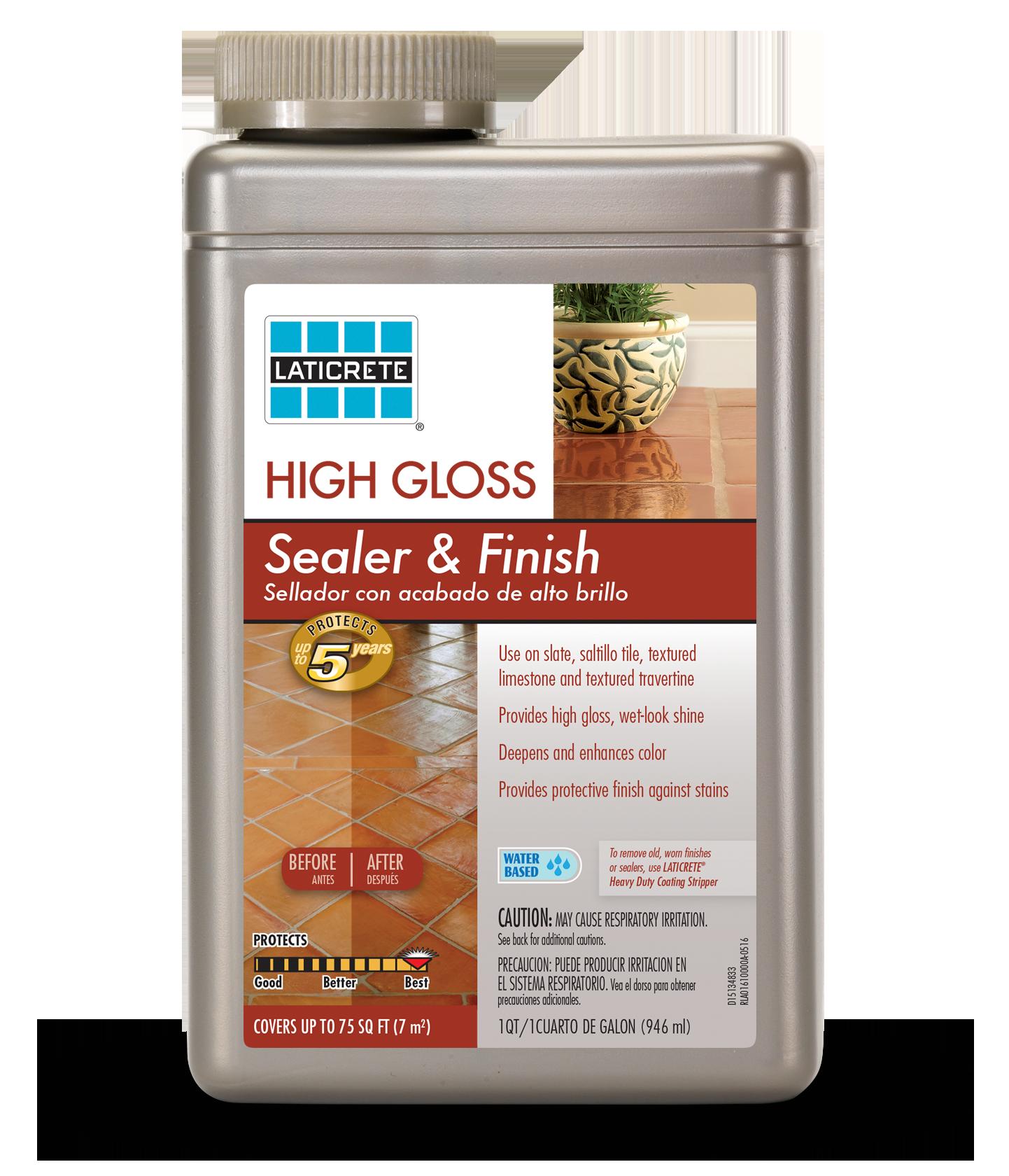 Dupont High Gloss Sealer: High Gloss Sealer Finish