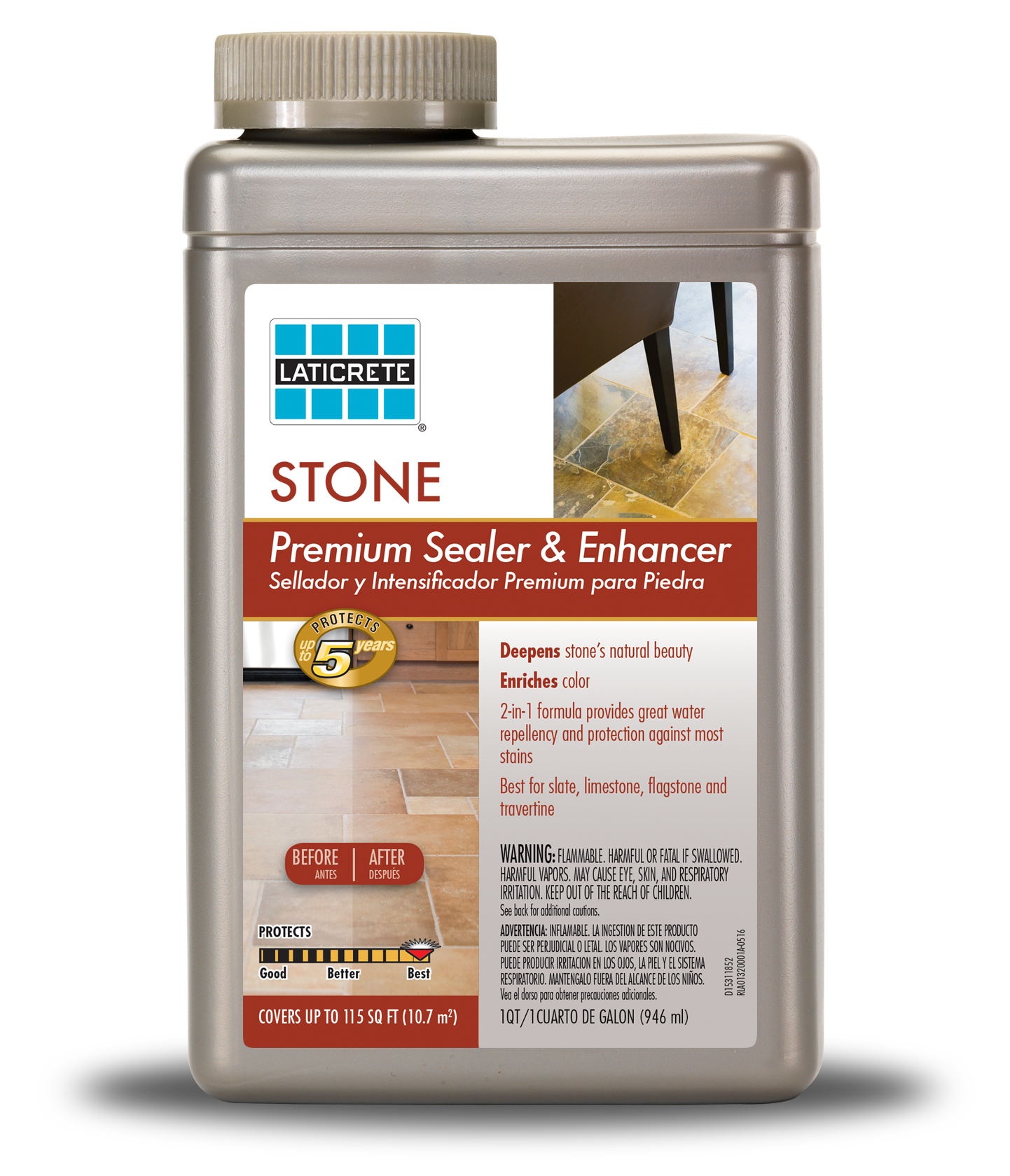 LATICRETE® Premium Stone Sealer & Enhancer